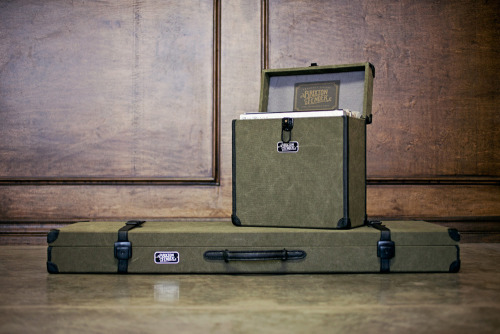 Fender X Brixton. Two awesome brands collaborating. Love the record box.