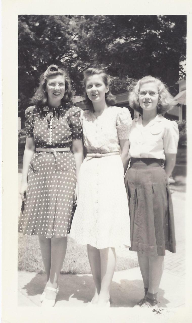 Grandma (left) with some friends