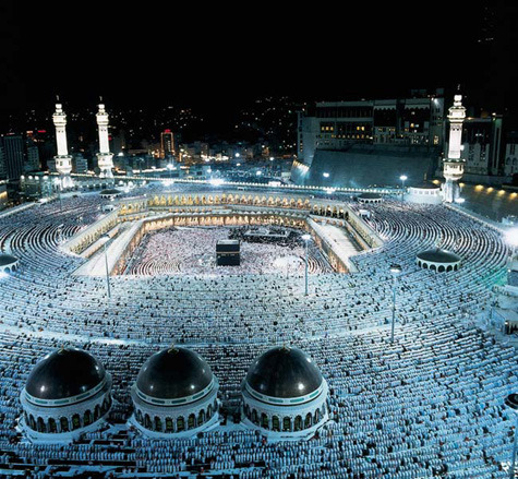 This is the Islamic Hajj, which is a journey to Mecca. Although Islamic radicals have given Islam a bad name, the actual people who embody it are just as dedicated as Christians, Jewish, and Buddhist people. They do not deserve to be persecuted against, just look at this amazing act of faith, the unity of them. If we all were this connected with our faith and teachings the world would be much better off. Much love and respect to the Islamic faith as well as the other wordily religions.