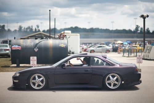Work equips, a damson S14a and ignoring the no parking signs? Yup.