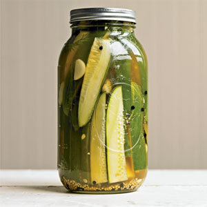 It's National Pickle Day! Today is the day pickle lovers everywhere unite to express their love  for this versatile salty snack. Whether you're attending a festival  teeming with samples of the hundreds of pickle varieties or just  enjoying a tasty gherkin at home, there's no denying the snackability of  a pickle and its brine. Anna's Bloody Mary recipe This version of the famous hangover helper, is also great any time you're craving a little pickle juice in your cocktail! 1 ½ oz vodka or scotch (substitute tequila for a Bloody María!)