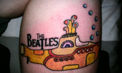 I chose the yellow submarine because I am absolutely in love with The Beatles and it makes me feel like everything is going to be okay. I got it done at Fine Line, in Topeka Kansas by Jennifer.
