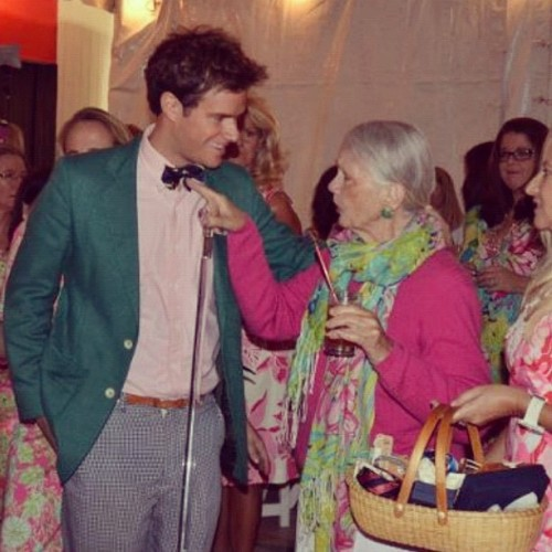 kieljamespatrick:  Lilly Pulitzer gives my neckwear and accessories a Thumbs Up! (Taken with instagram)