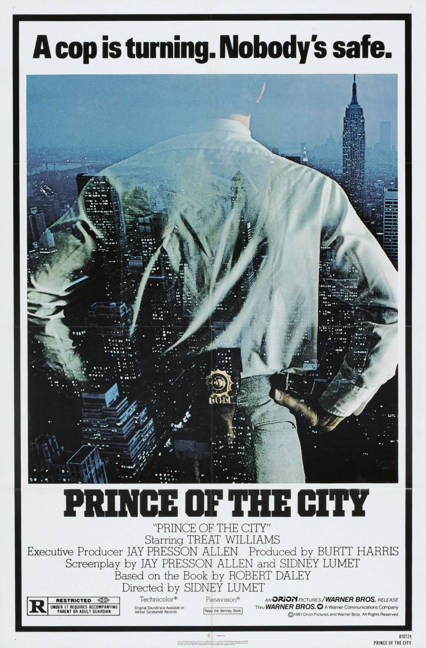 Prince of the City. The character of Daniel Ciello is based on real-life NYPD Narcotics Detective Robert Leuci. Leuci's testimony helped indict 52 corrupt detectives.