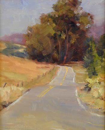 paperimages:  Tara Keefe, Road to Nicasio