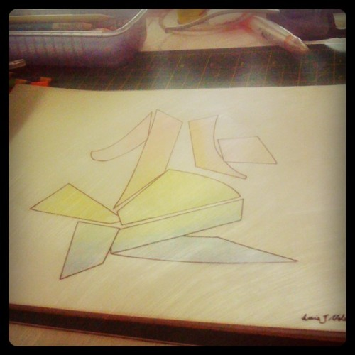 #graphicdesign #colors #shapes (Taken with instagram)