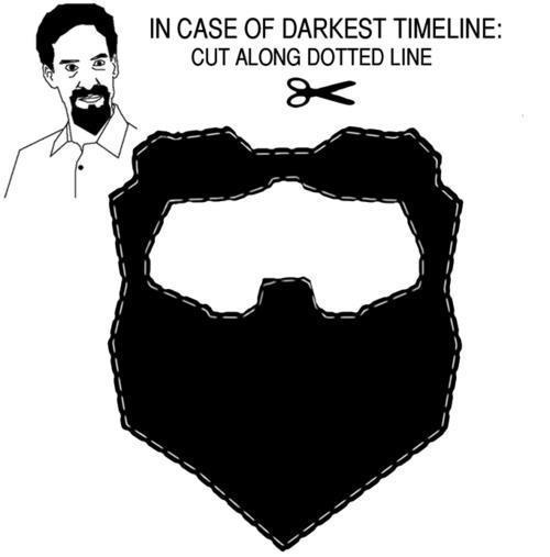 kingdomkeyblade:  YOU GUYS. PRINT OUT YOUR EVIL BEARDS. WE'RE IN THE DARKEST TIMELINE. :'(