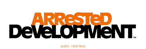 T V 0 0 S -ARRESTED DEVELOPMENT- PUBLIC RELATIONS 2004.lee SHALLAT-CHEMEL 4.0/5.0 energetic and intense, another outstanding episode that with very good pace unravels a series of events that end up in an over-the-top great scene, however the very best scene of the episode was without any doubt the family meeting with their new PR to determine what they all should do to improve the family public image.