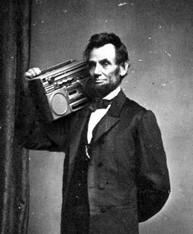 icypopcorn:  this is why Abe was my favorite pres.  Abraham Lincoln: Beyond Governor