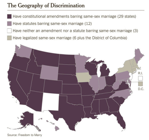 USA: Marriage Rights Map