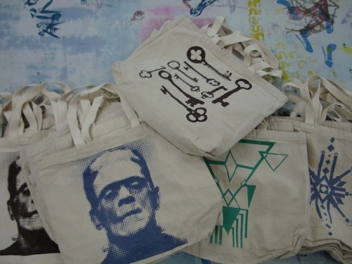 Some lovely tote bags