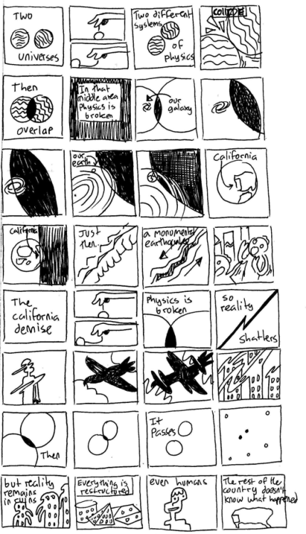 Comic I doodled during astronomy class. I'm not sure if it's readable or anything. I might do a cleaner version of it someday maybe.