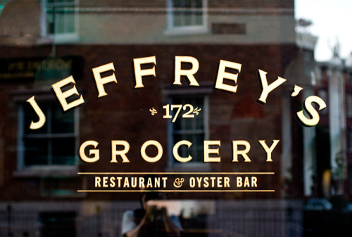 nyctype:  Waverly Place and Christopher Street