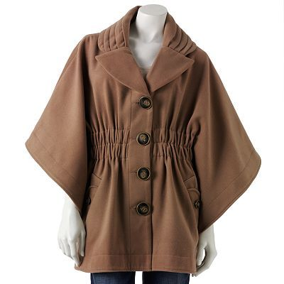 Can't wait to wear this coat this season!  Has the perfect swing in the arms and it fits nicely around the waist :)