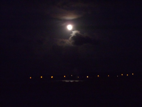 Goodnight all! (Moon over Kilronan, Summer 2011)