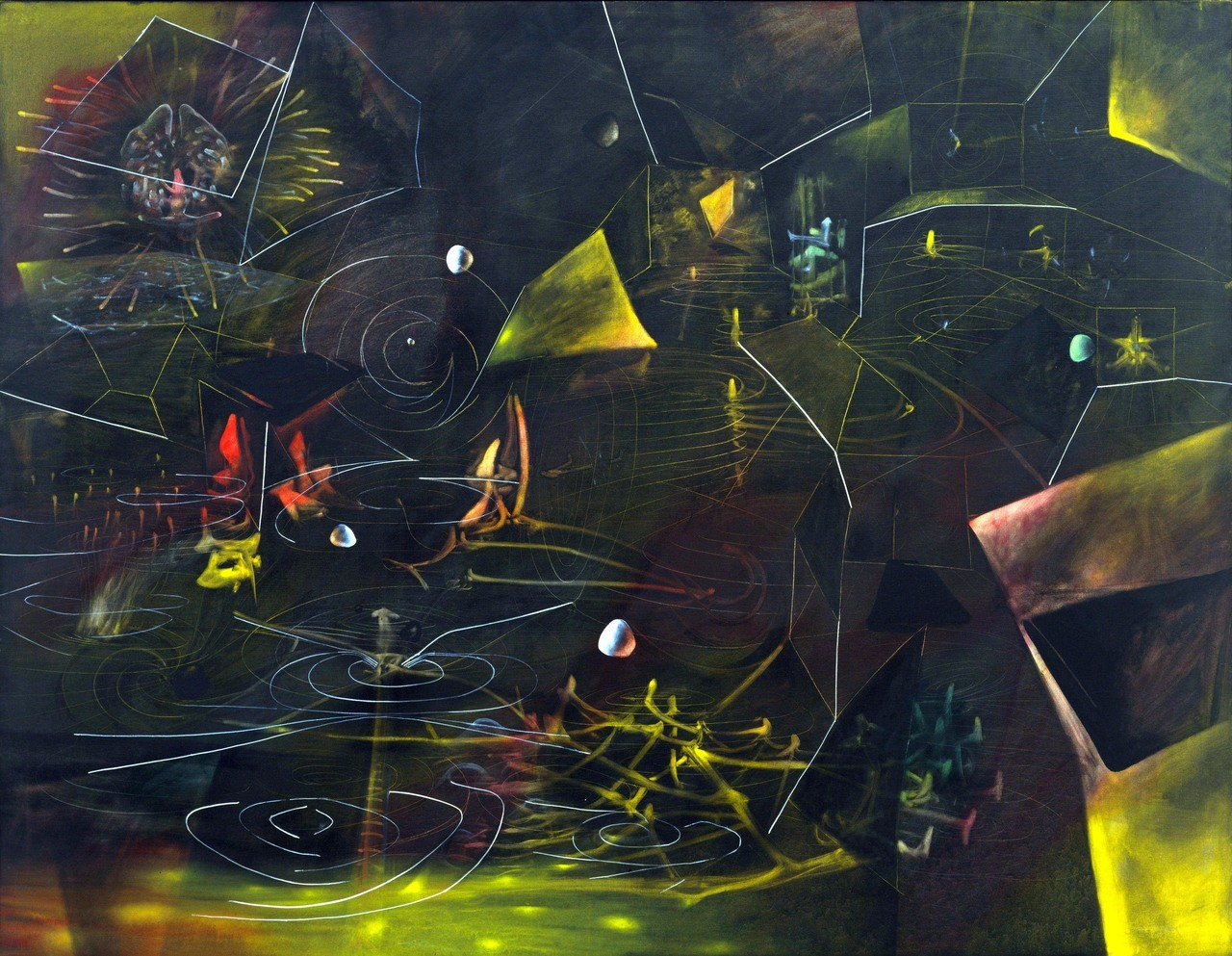 theorthodoxheretic:  Roberto Matta - The Vertigo of Eros (1944)