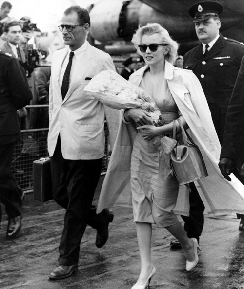 mujick:  Marilyn Monroe and Arthur Miller