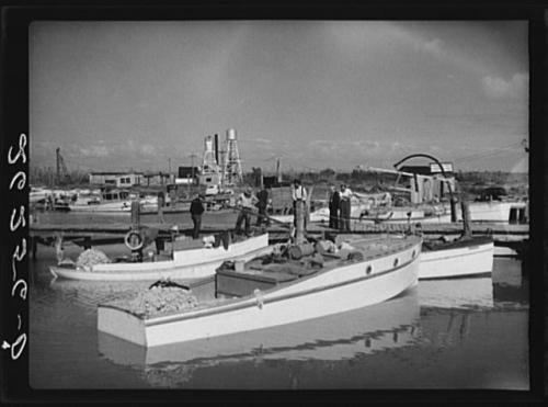 Marina in Lower Matacumbe, 1938. Source: Library of Congress