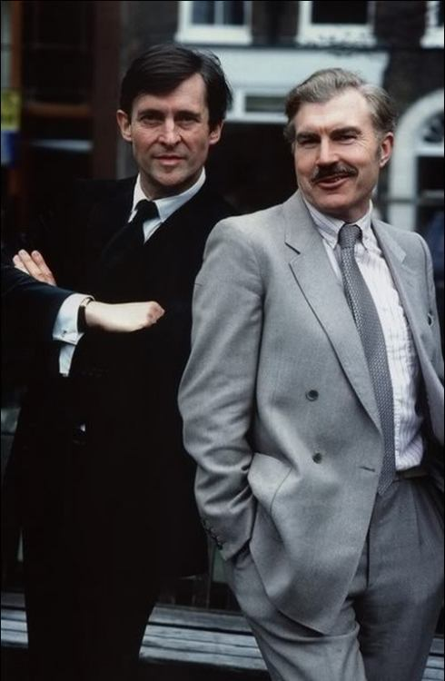 Jeremy Brett and David Burke.
