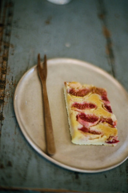 Fig tart by chizuru-bis on Flickr.