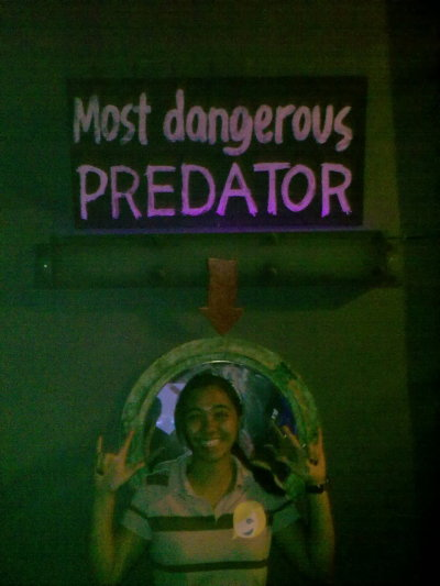 Most dangerous predator. :) hahaha