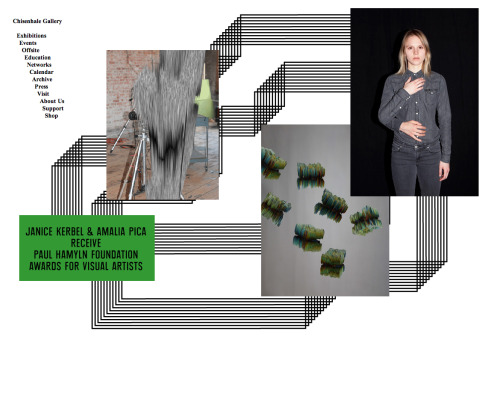 Chisenhale Gallery mainpage (12.2011) Design: Studio Frith