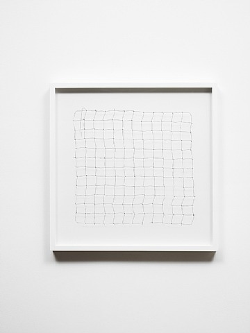 fyeahwomenartists:  Cornelia ParkerBullet Drawing II Lead bullet drawn into wire 2011
