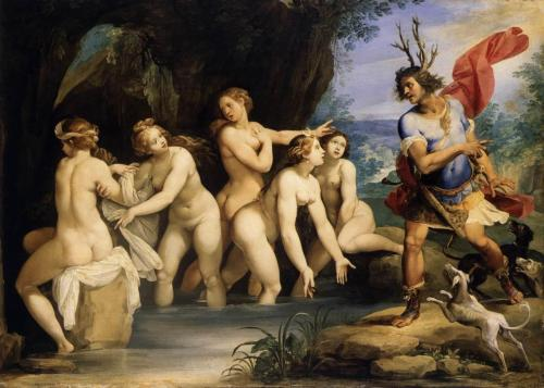 phassa:  Cesari, Giuseppe - Diana and Actaeon