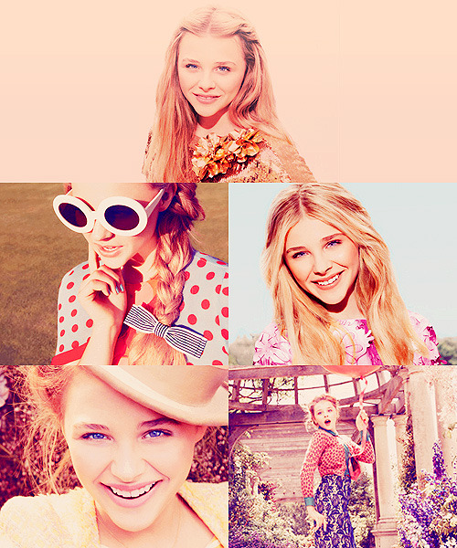 pattinson-mcguinness:  Chloe Moretz for Teen Vogue