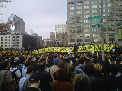 noideasbut:  Liberate. Occupy. You don't need a weatherman to know which way the wind blows.  Meanwhile the movement gets a second wind despite catastrophic loss.