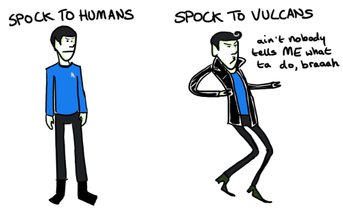 frightfullytreeish:  spock out wit yo cock out