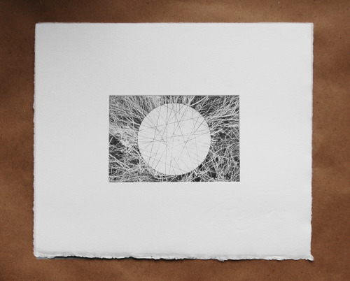 "Study for Epicenter's Antipode, printed in Florence, MA from photographs taken in Green River, Utah, 6""x6"", $50 $20!"