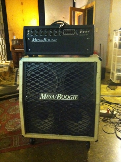 reviver:  SPAM!Hey gear nerds!Wes is selling this vintage Mesa/Boogie half stack. Mesa/Boogie DC-5 Similar to a Mark III and less expensive. It's the nicer 6L6 model DC-5 with two  independent eq's and a graphic EQ. Cleans are wonderful and the  overdrive is tight and crisp with plenty of gain for hardcore, punk, metal, etc… Clean cosmetic condition. $650 OBO Mesa/Boogie Halfback 4x12 Vintage halfback cab from Mesa. These things are gnarly. This one came  stock from Mesa with white tolex. Also came stock with a back panel that  you could close the top two speakers with. So you have the option of a  full enclosed cab or a half open back. It has the original Celestion  G12-80's in the bottom(enclosed) compartment and the top two are  Eminence Swamp Thangs. $400 OBOLocated in the Salt Lake City, Utah area. Prefer not to ship the cab. Would cut a deal if sold together. E-Mail Wes at wesleyjohnsonengineering@gmail.com