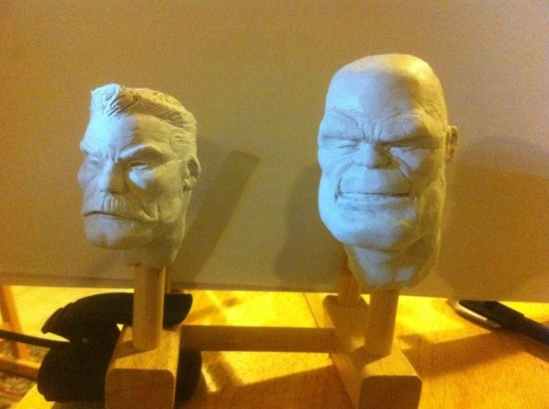 some reference busts i've been having a blast working on.  from blarg.