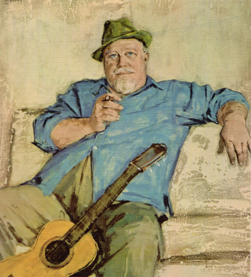 jahoctopus:  Burl Ives by  Jan Hoowij