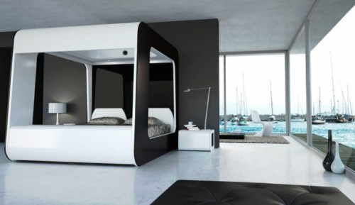 homedesigning:  Today we are loving: Hi Can: The Ultimate Luxury Bed