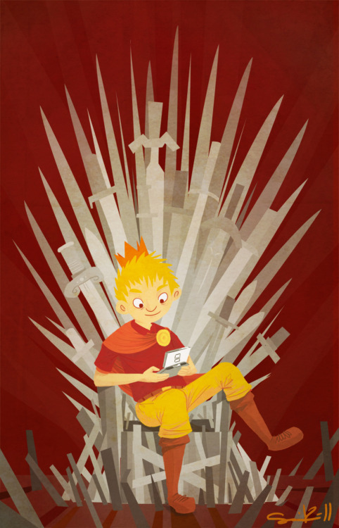 Joffrey's Game - by Sami Kähkönen  Website | deviantART | Tumblr (Via: samikah)