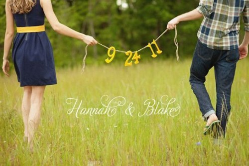 blushingbridewedding:  Save the Date