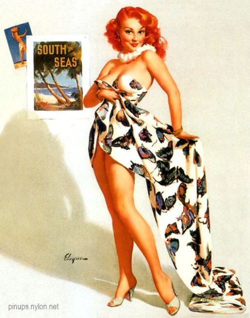 Fit to be Tied - Gil Elvgren 1956
