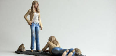 "I want you…to get out of my Face! Buffy & First (6"" Figures)"