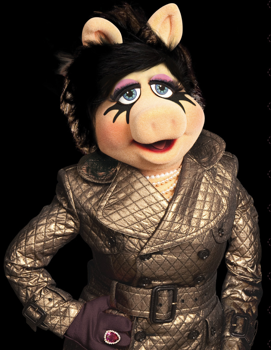 "Q&A: Miss Piggy shares her style secrets Miss Piggy's one busy diva. Her limited edition Miss Piggy for M·A·C collection will be released exclusively online on Nov. 14 and she stars in The Muppets movie, out Nov. 23. We asked the porcine style icon to share her fashion and beauty secrets and a few of her favourite things.Q  You don't seem to have aged in years! It's almost as though time has stopped — as though there's a painting aging in the attic. What's your secret?A  My secret? I don't celebrate birthdays — though I do accept presents, and not just on birthdays. Also, I travel with a team of stylists and makeup artists who make certain I always look my best. And, in the unlikely event I don't look my best, I have a very aggressive publicist who gets the pictures back before they hit the tabloids. As for the ""painting aging in the attic"": that's simply not true. I keep it in the garage."