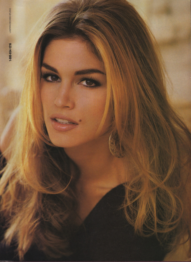 This is the photo of @CindyCrawford that I brought to the salon the first time I got highlights. #memories