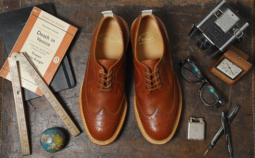 Long Wing Country Brogue - Trickers (English Shoemakers since 1829)