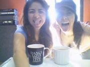 Nothing like a cup of coffee with good friends :) Carolina&Carolina