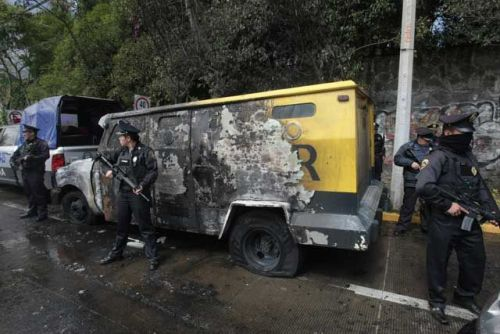 "Anarchists attack armored trucks with fire — Mexico City, Mexico The communique: ""The news of anarchist warrior Luciano Pitronello's fall in action  thousands of miles away, the sentencing of comrade Tamara in Spain, and  the isolation of our brother in struggle Gabriel Pombo da Silva and of  our Greek comrades Argyrou Panagiotis, Nikolopoulos Mihalis,  Nikolopoulos Giorgos, Tsakalos Gerasimos, Tsakalos Hristos, Polydoros  Giorgos, Bolano Damianos, Hadzimihelakis Haris and Ikonomidou Olga of  the Conspiracy of Cells of Fire, revived our insurrectionalist  conscience. We decided to raise ourselves to the call of the CCF and take to the  streets to illuminate our struggle with fire, from the example of the  imprisoned comrades who did not limit themselves to words and curses  against social peace and took into their hands the decision to break the  system of domination. Though we fall captive or dead, the anarchist  struggle continues forward with new comrades. The day of October 13, at 3am we attacked capital, burning Servicio  Panamericano's armored money transport trucks at Calle Olimpo and San  Francisco in La Martinica colonia, destroying their dirty property. Today, November 5th in the morning we returned to attack once again  with anarchist fire, turning their filthy money into smoke in clear  daylight, burning another armored money transport truck, this time owned  by the company Grumer (Murcurio group) at Avenida Castorena in Jesus  del Monte colonia in Culajimalpa delegacion in Mexico City, paralyzing  their social Friday. Surely the capitalist prosecutor Miguel Mancera, following the leftist strategy of the pederrista Marcelo Ebrad, will try to cover up the attacks and continue to lie in  order to silence everything that indicates the insurrectional anarchist  offensive in his guardian city, covering up information and distorting  the facts so that all the anarchist attacks become INEXPLICABLE SHORT  CIRCUITS. Chaos has returned for all who thought she had died Direct solidarity with our brother Gabriel Pombo! Direct solidarity with warrior Tortuga! Direct solidarity with comrade Tamara! Direct solidarity with all anarchist prisoners in Mexico, Chile, Greece, Italy, the United States, Switzerland and the world! Against all domination! Fire and anarchy! Insurrectional Cell – Mariano Sanchez Añon (CI-MSA) faction of the Informal Anarchist Federation of Mexico (FAI-M). Mexico, 5th November 2011"" http://waronsociety.noblogs.org/post/2011/11/10/mexico-incendiary-attacks-against-armored-trucks-in-mexico-city/"