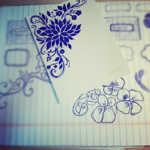 Pattern in the making :) #doodle #draw #design (Taken with instagram)