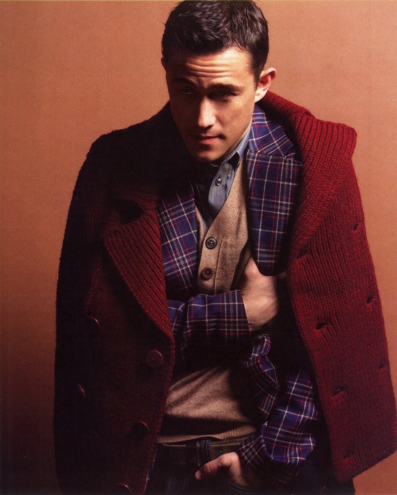 Joseph Gordon Levitt shot by Yu Tsai for BlackBook Magazine, styling by Jenny Ricker, grooming by Cheri Keating