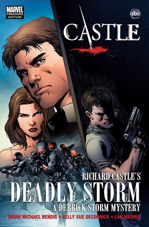 "ladiesmakingcomics:  Comic Book Resources > ""Richard Castle's Deadly Storm"" HC Giveaway Hop over to CBR for the chance to win the Castle tie-in GN co-written by Kelly Sue DeConnick!"