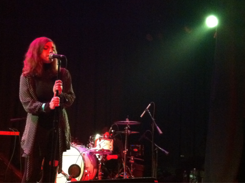11.15.11. Late show at Lincoln Hall last night after Lykke Li.  So man