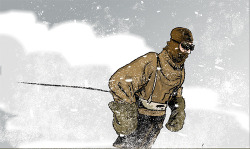 3 on Flickr.From the archive: an extract from my Douglas Mawson comic epic.  #douglasmawson #comics #antarctica
